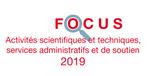 Couverture Focus Activités scientifiques et techniques 2019
