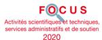 Couverture Focus Activités scientifiques et techniques 2020