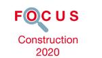 Couverture Focus Construction 2020