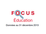 Couverture Focus Education 2013