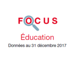 Couverture Focus Education 2017
