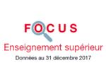 Couverture Focus Enseignement supérieur 2017
