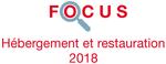 Couverture Focus Hébergement et restauration 2018