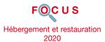 Couverture Focus Hébergement et restauration 2020