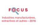 Couverture Focus Industrie 2016