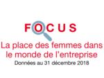 Couverture Focus La place des femmes dans le monde de l'entreprise 2018