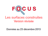 Couverture Focus : Surfaces construites