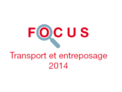 Couverture Focus Transport et entreposage 2014
