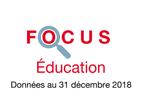 Couverture Focus Éducation 2018