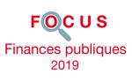 Couverture Focus Finances publiques 2019