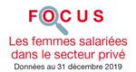 Focus les femmes salariées dans le secteur privé
