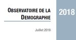 Couverture Observatoire Démographie 2018