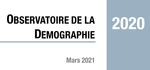 Couverture Observatoire Démographie 2020