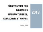 Couverture Observatoire Industrie 2018